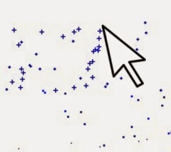 Cara Membuat Cursor Blog Keren Dengan Efek Bintang Bertaburan