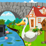 Games4King Cute Swan Resc…