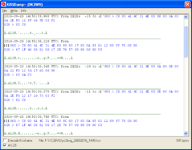 AlSat-1N packet decoded