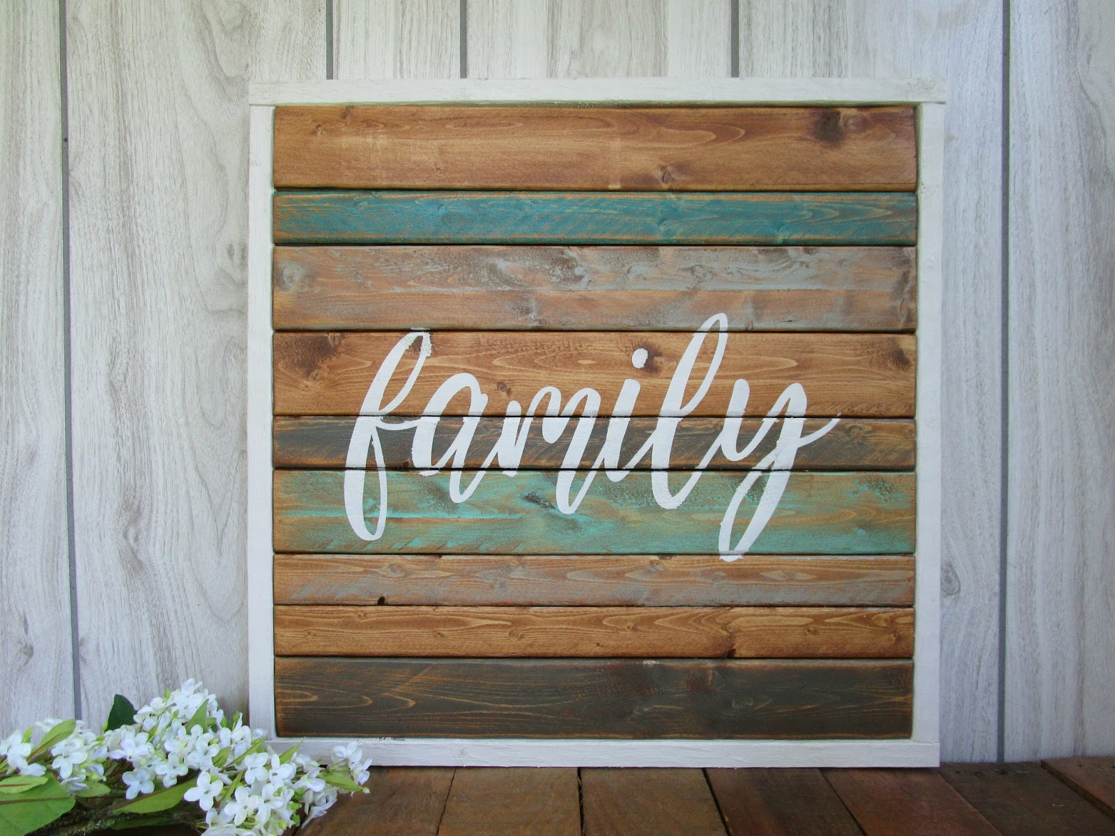 Northwoods Attic Framed Family And Gather Wood Signs