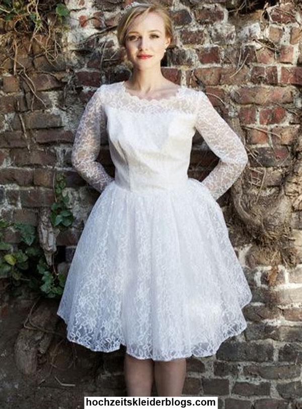 Hochzeitskleid Kurz Vintage
