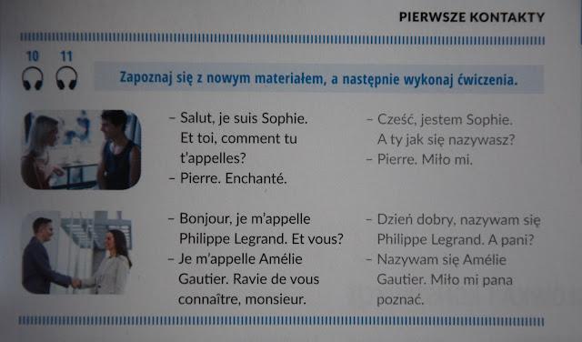 """Recenzje #19 - """"Francuski nie gryzie reedycja"""" + konkurs - przykładowe dialogi - Francuski przy kawie"""