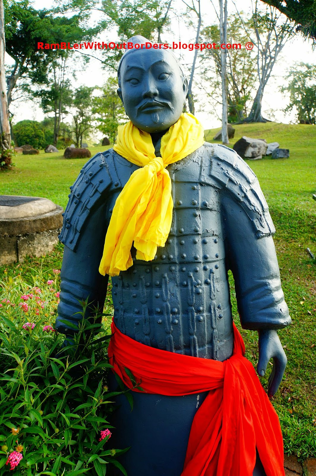 Replica of Xian entombed warrior