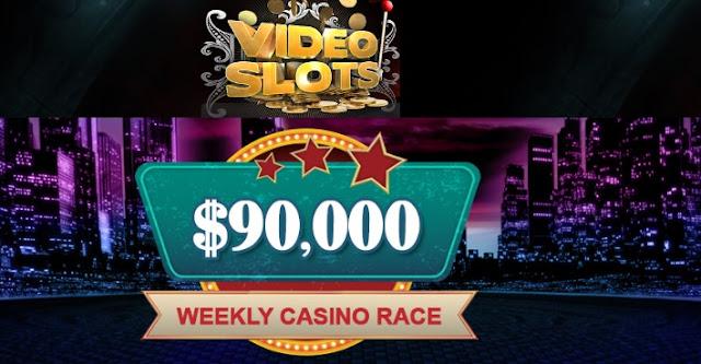 Videoslots.com weekly $90K casino race   Win your share