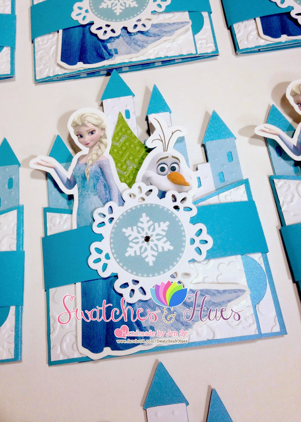 Swatches Hues Handmade With Tlc Frozen Themed Bendi