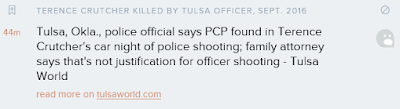 terence crutcher pcp