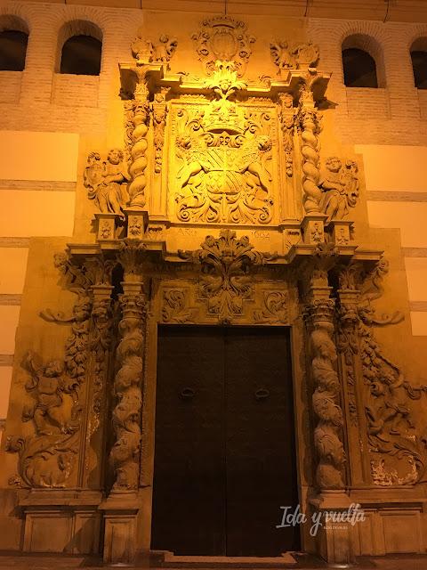 Lorca portada Palacio Guevara