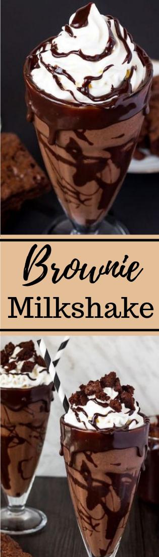 Brownie Milkshake #drink