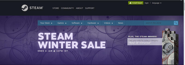 Steam Winter Sale Getting Huge Discounts On 2017 Hit Games