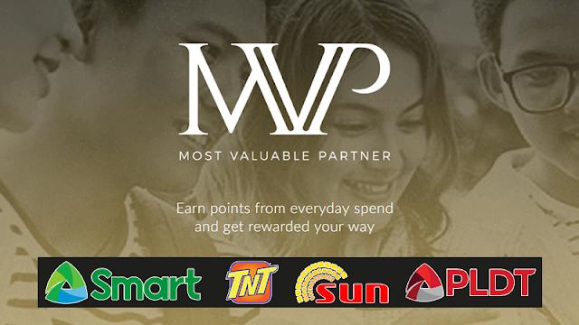 MVP Rewards : New Rewards Program for Smart, TNT, Sun and PLDT