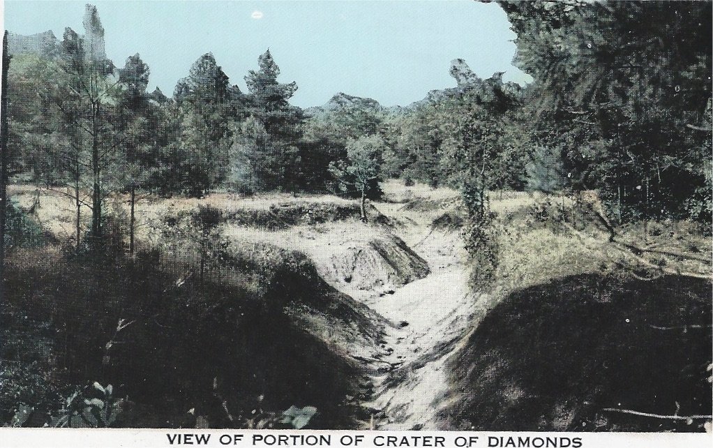 Crater Of Diamonds State Park In Murfreesboro Ark