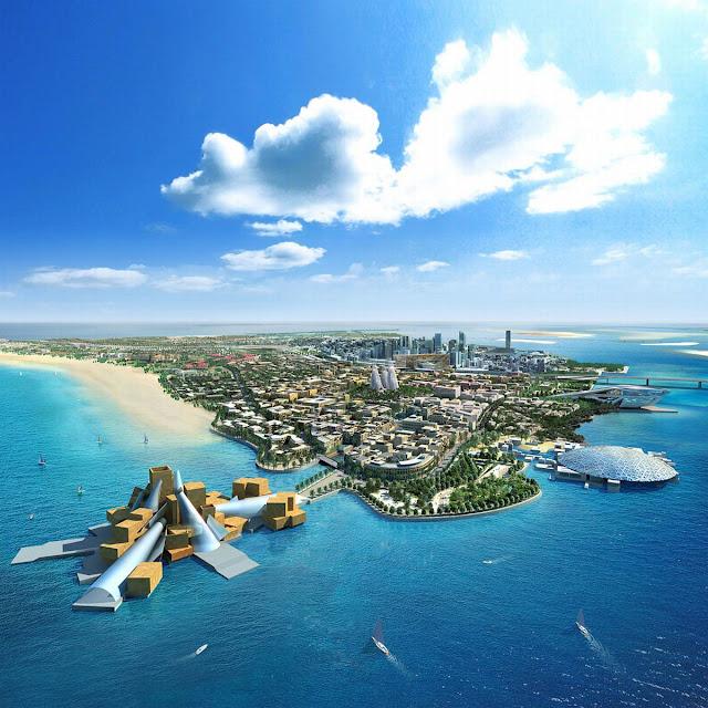 Saadiyat island Abu Dhabi