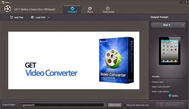 GET Video Converter Ultimate 8.0.7.3 + Key