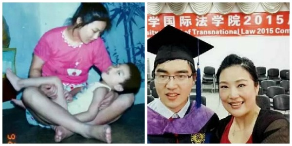 Chinese single mother raises disabled son to get into Harvard