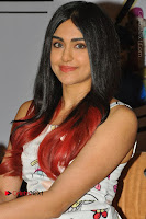 Bollywood Actress Adah Sharma Pos in White Printed Short Dress at OPPO F3 Plus Selfie Expert Mobile Launch .COM 0003.jpg