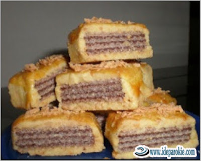Resep Kue Wafer Coklat