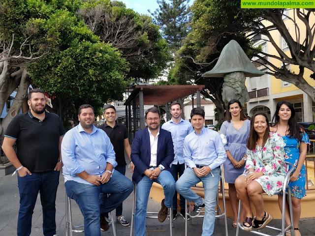 """Antona: """"Los jóvenes son una pieza fundamental del PP de Canarias"""""""