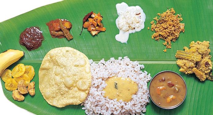 केरल के विभिन्न व्यंजन