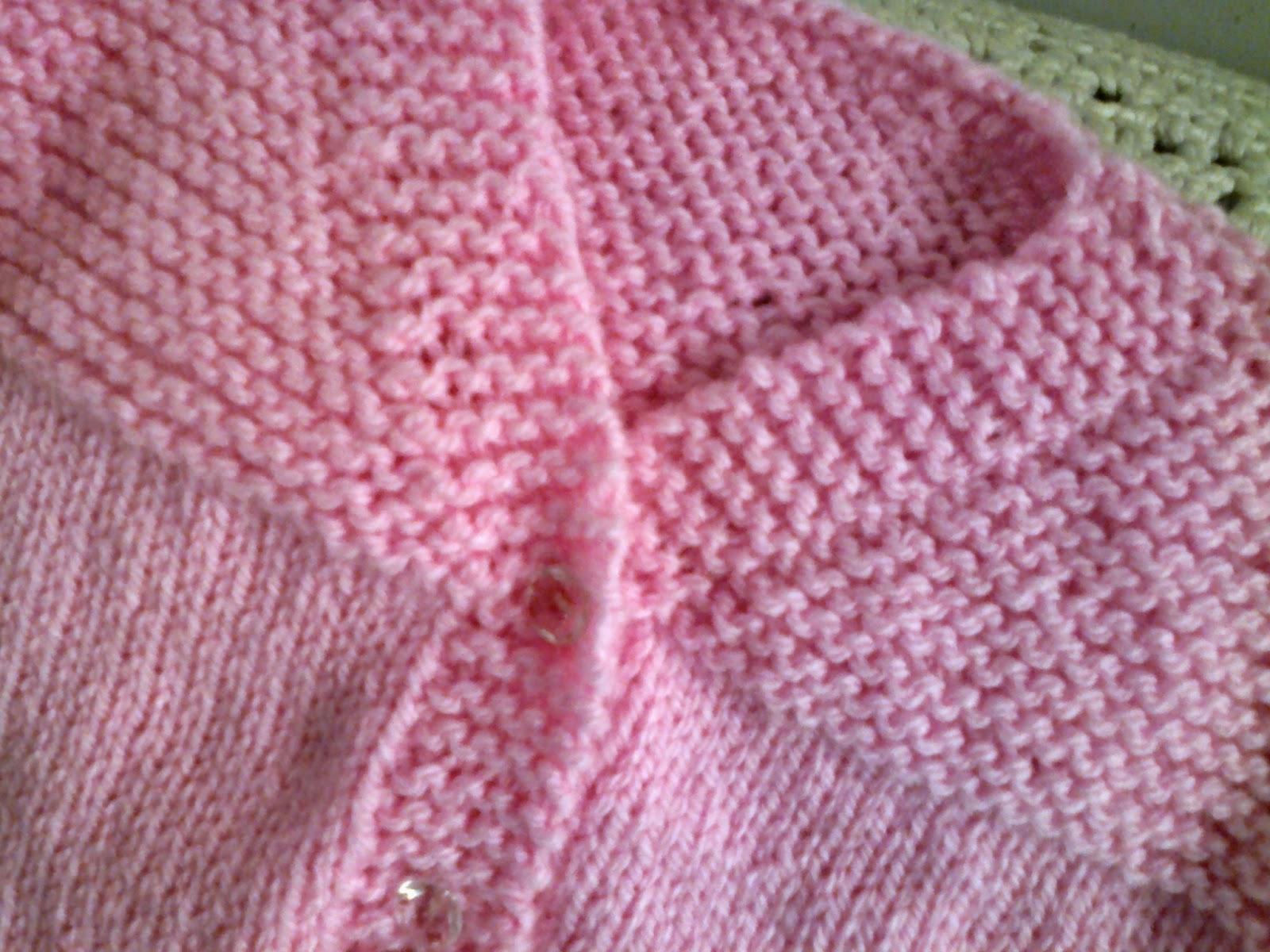 Todo em ponto meia e em cordões de tricô a6a3f2d11a9