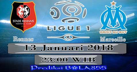 Prediksi Bola855 Rennes vs Marseille 13 Januari 2018