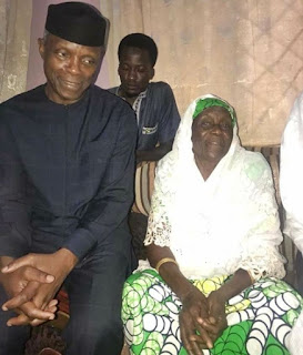 YEMI OSINBAJO, OTHERS PAYS VISIT TO BUHARI'S SENIOR SISTER IN DAURA