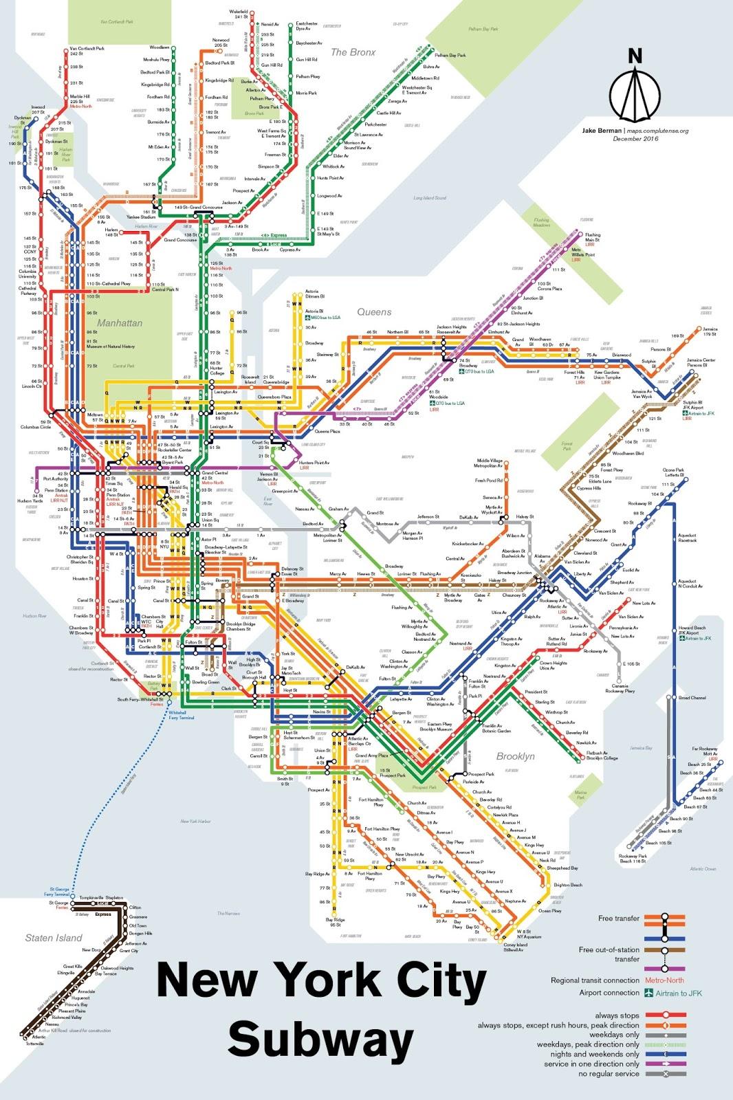 New York City Subway (December 2016)