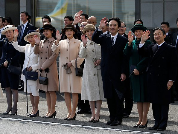 Crown Prince Naruhito, Crown Princess Masako, Prince Akishino, Princess Kiko, Princess Mako, Princess Kako State visit to Thailand and Vietnam