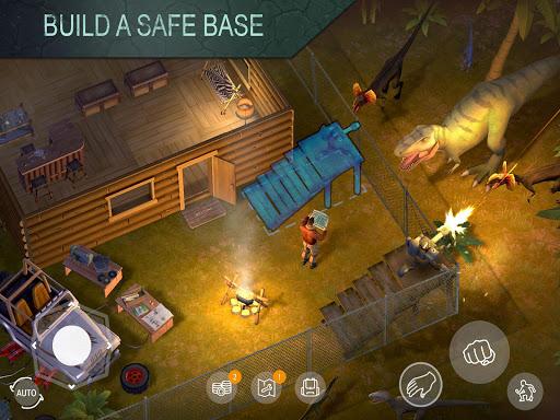لعبة Jurassic Survival 1.1.3 مهكرة كلشي مفتوح مع الدم لا نهاية فقط APK بدون ملفات