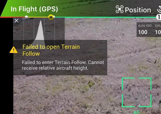 how to get around altitude restrictions mavic pro