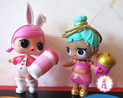 L.O.L. Surprise Dolls Series 2 Genie and Hops