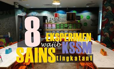Koleksi Contoh P&P Inkuiri Bagi 8 Eksperimen Wajib Sains Tingkatan 1 KSSM