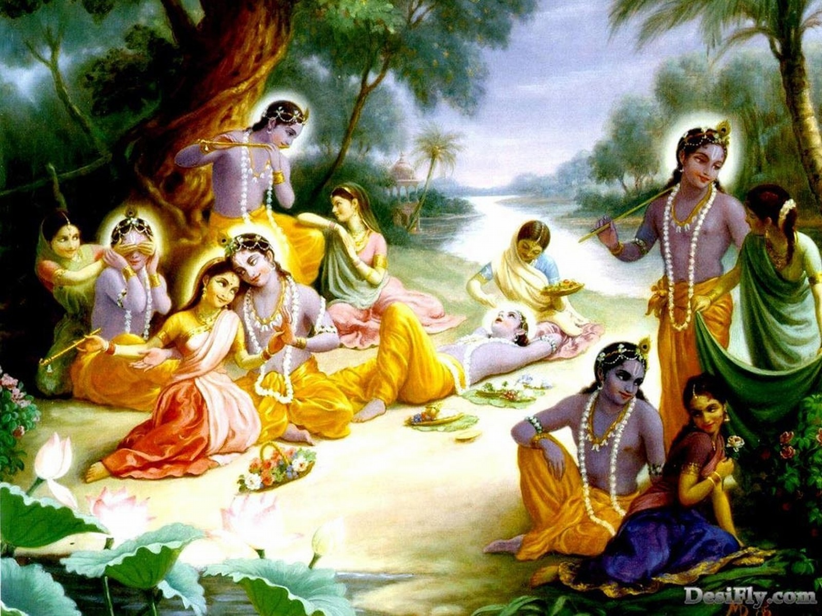 Wallpaper Gallery: Lord Krishna Wallpaper