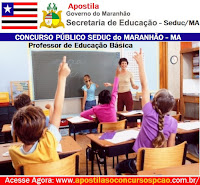 Apostila concurso SEDUC-MA professor Concurso Público SEDUC/MA