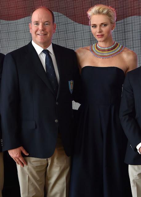 princess Charlene colorful zulu necklace
