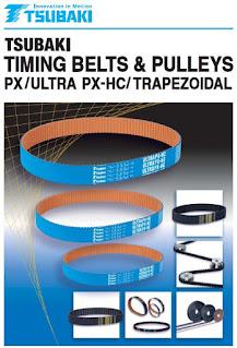 tsubaki timing belt pulley px ultra bg