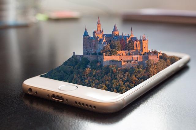 immagine manipolata di un Smartphone