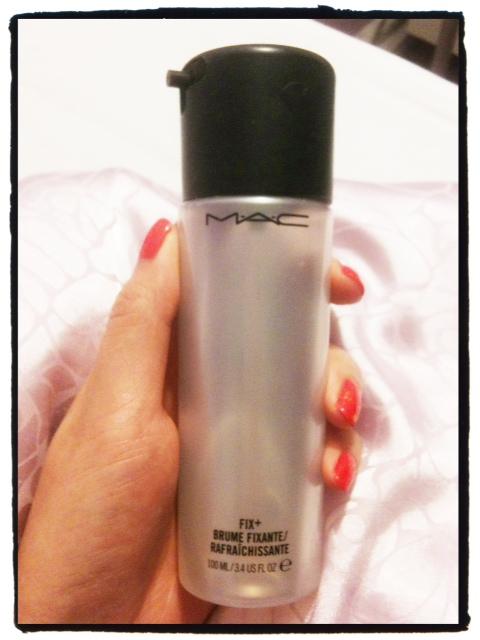 Mandy's Favourite Things: Make-Up Sprays: MAC Fix+ Vs. UD