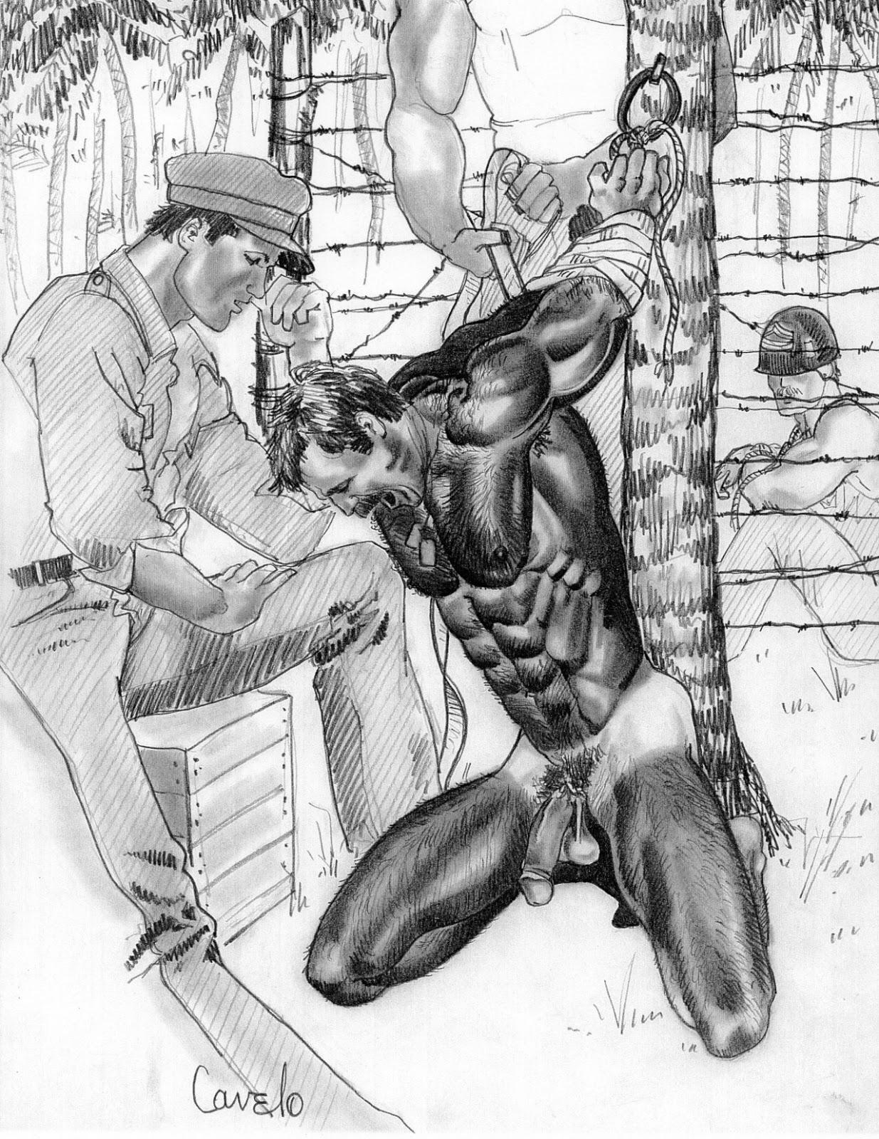 Japanese bondage torture drawings - Other