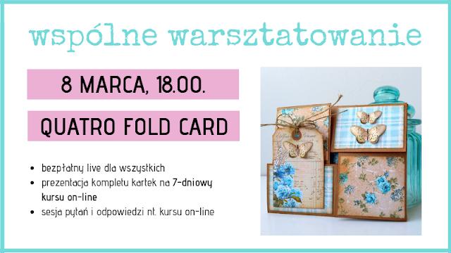 Kurs online – Niezwykłe formy kartek w 7 dni – rusza przedsprzedaż!