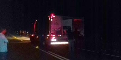 Ciclista morre após ser atingido por caminhão em acidente na CE-187, entre Ipu e Ipueiras