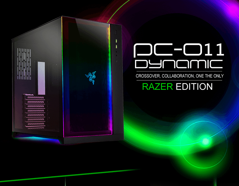 Razer and LIANLI partners for special edition PC-O11 Dynamic