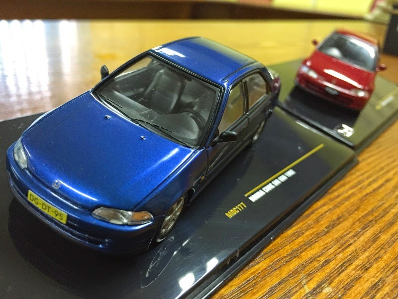 Diecast Honda CivicEG9 SiR 1992