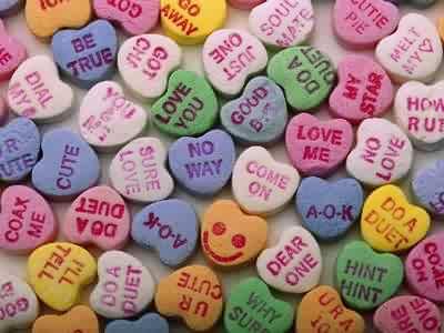 Sweet Valentine Candy Heart Sayings Valentine Jinni