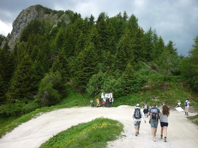 escursione al monte rite