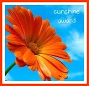 I received the Sunshine Award !