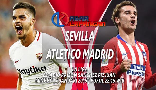 Prediksi Bola Sevilla vs Atletico Madrid Liga Spanyol
