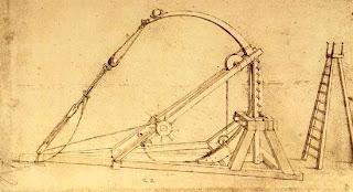 Leonardo da vinci y algunas de sus obras e inventos te for Catapulta di leonardo da vinci