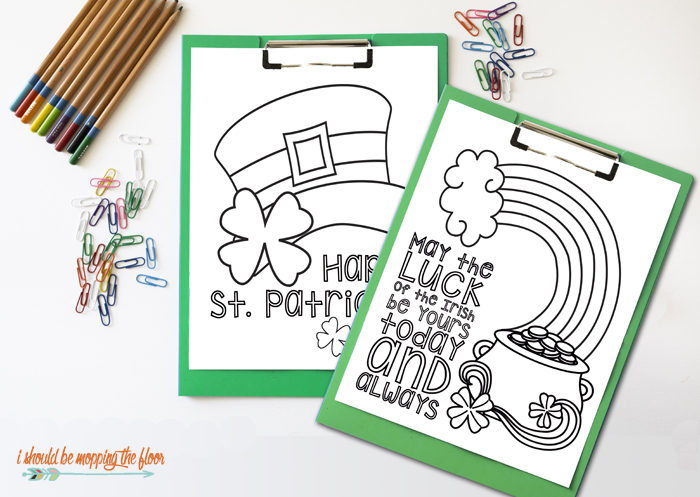 i should be mopping the floor: Free Printable St. Patrick\'s Day ...