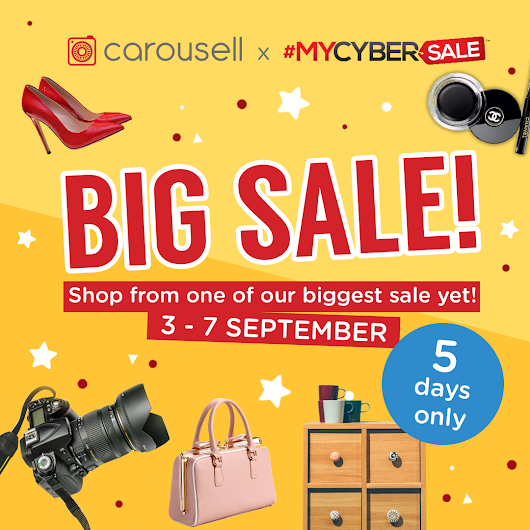 ora adzlin: #MYCYBERSALE SHOPPING SPREE ON CAROUSELL