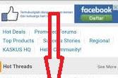 pakai iklan adsense gaya sticky widget,ini akibatnya.